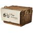 Basil Portland Classic Lenker Korb mit Deckel varnished natural